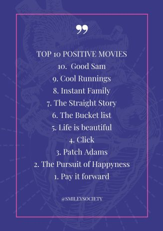 TOP 10 POSITIVE MOVIES