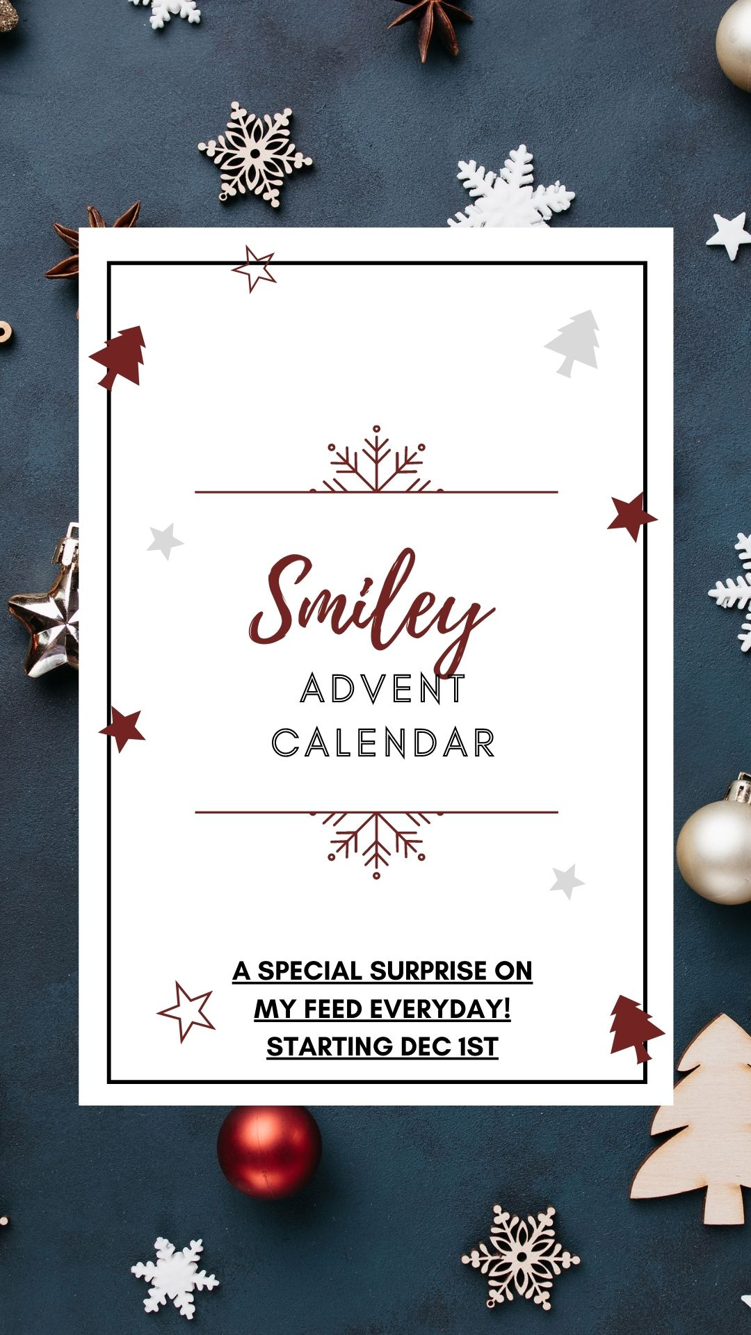 Advent calendar announcement