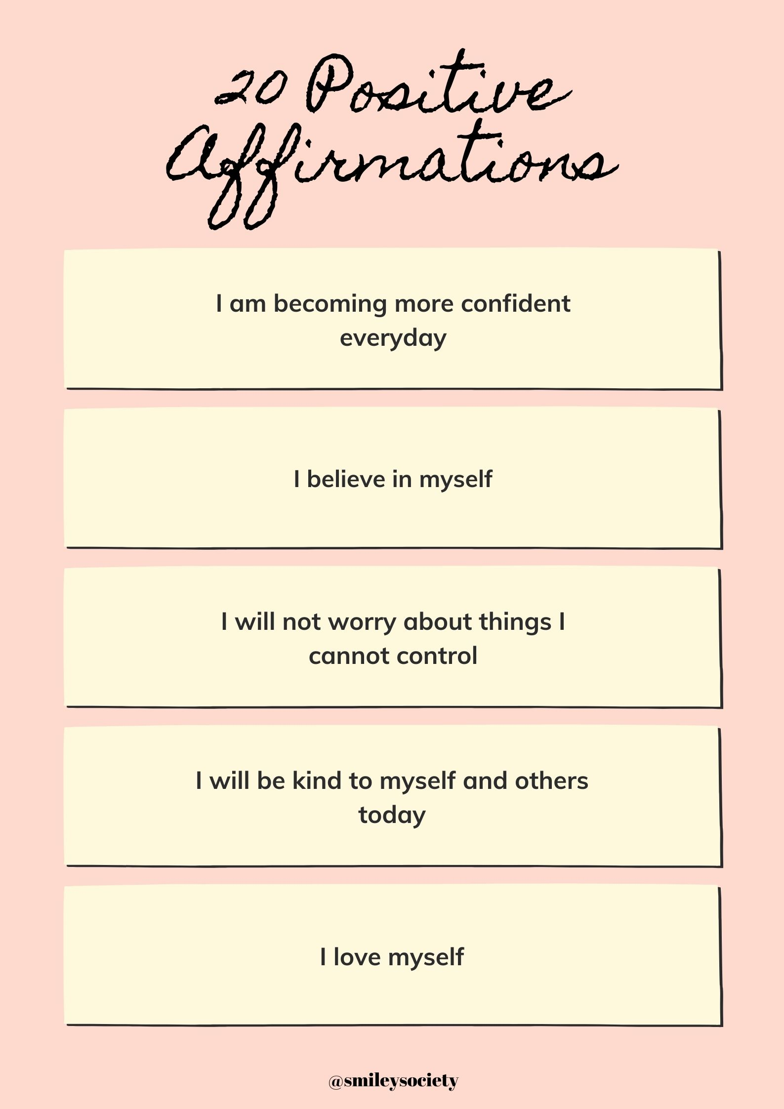 Positive affirmations 3