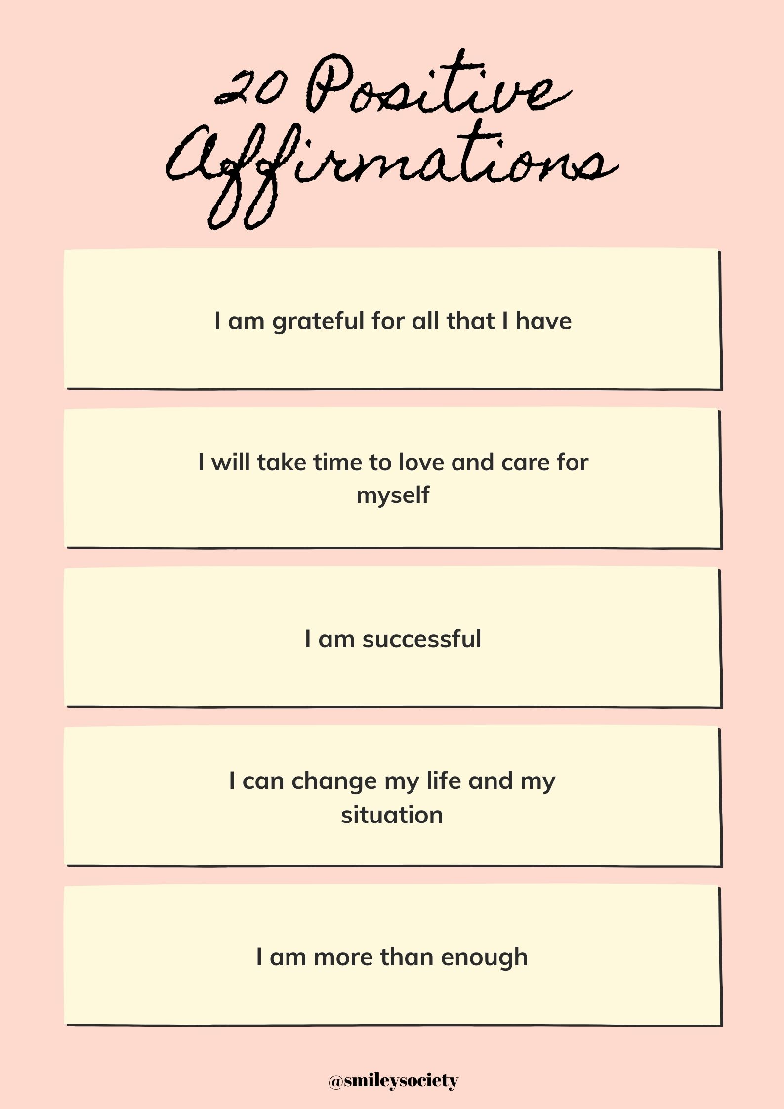 Positive affirmations 4